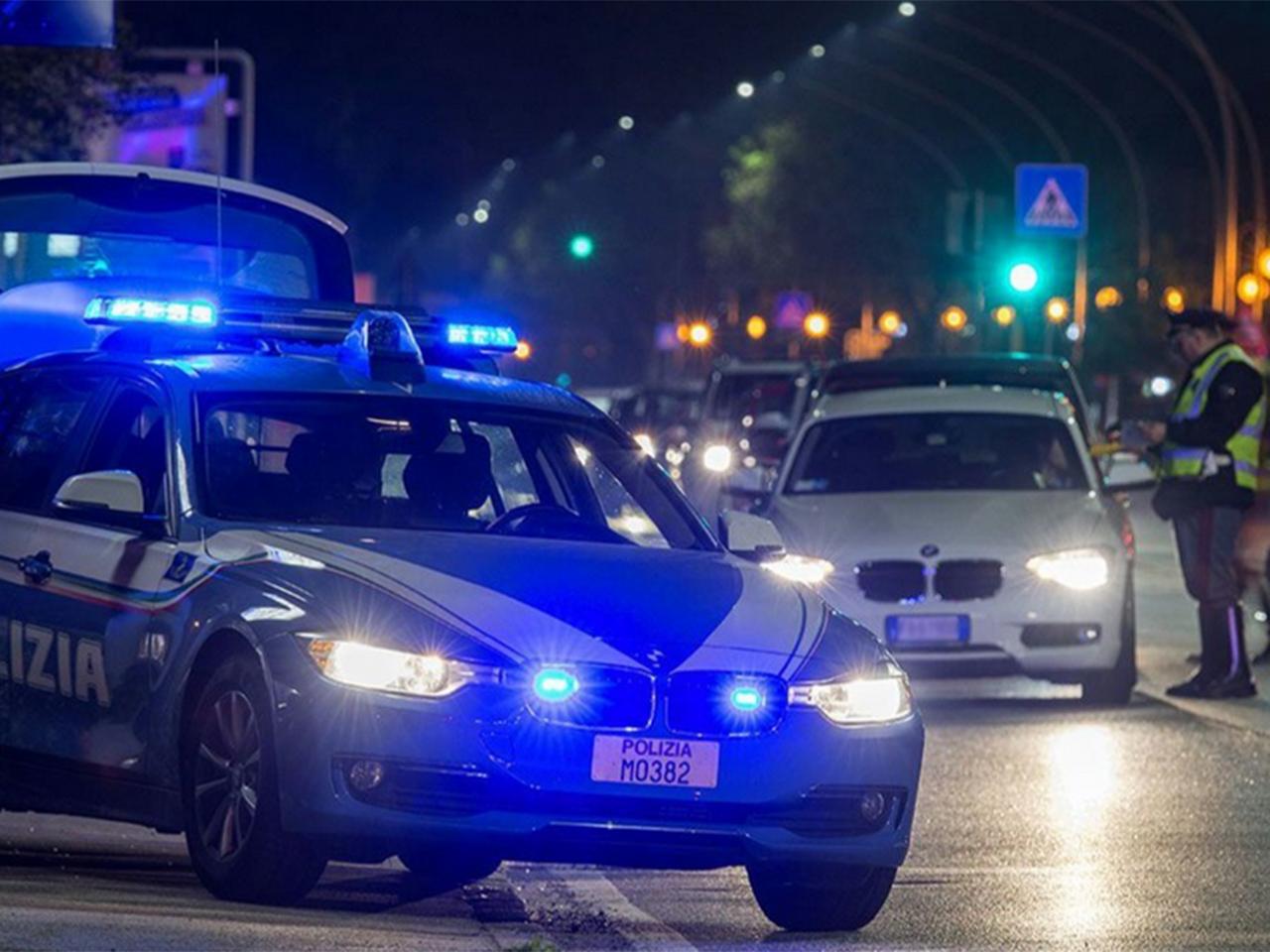I controlli del territorio da parte della Polizia