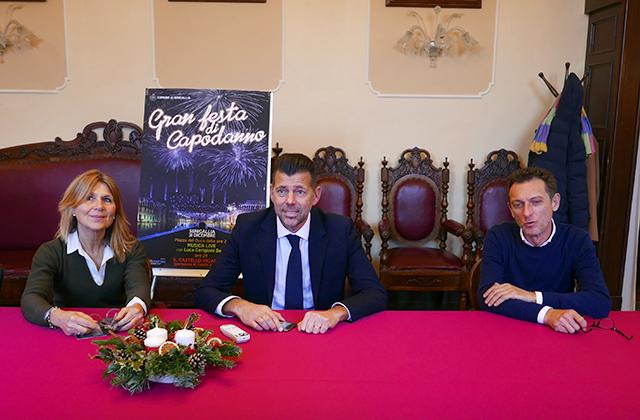 Presentata la festa di capodanno 2019-2020 a Senigallia: da sinistra Simonetta Bucari
