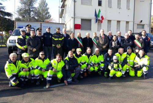 Castelplanio, il presidente della Regione Ceriscioli inaugura la nuova sede della Protezione civile