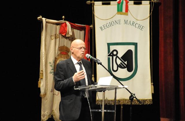 L'intervento del professor Ilvo Diamanti alla XV Giornata delle Marche, svoltasi a Pesaro