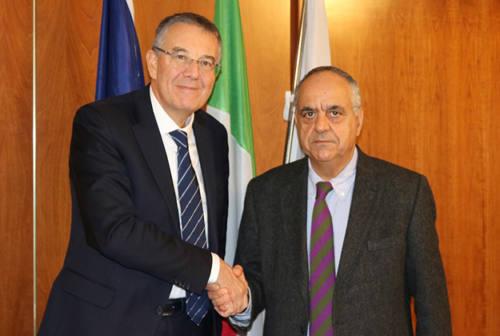 Università: incontro ad Ancona tra i rettori Gregori e Adornato