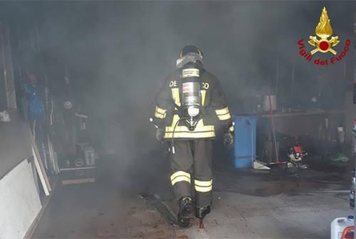 Osimo, doppio intervento per incendio per i Vigili del fuoco