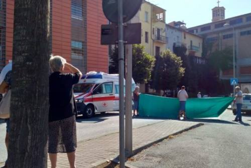 Giovane investita a Sassoferrato, interviene l'eliambulanza