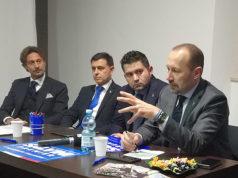 Anche il senatore Arrigoni ha salutato l'ingresso del consigliere di Macerata Francesco Luciani (ex Idea Macerata) in Lega