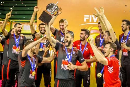Volley, salta il Mondiale per Club. La Lube Civitanova resta campione senza giocare