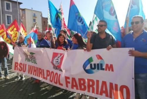 Vertenza Whirlpool: sciopero e presidio nelle Marche il 31 ottobre