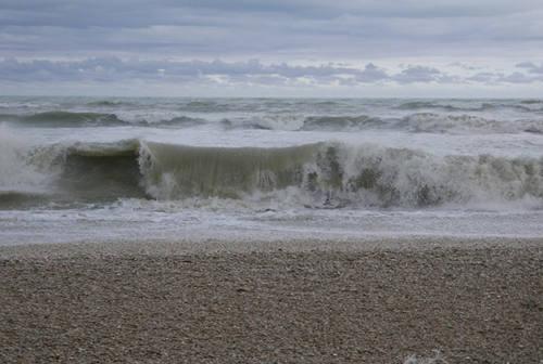 Ancora meteo avverso, altra allerta per la spiaggia di Senigallia