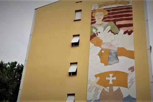 Jesi, di chi sono i murales di Largo Allende?
