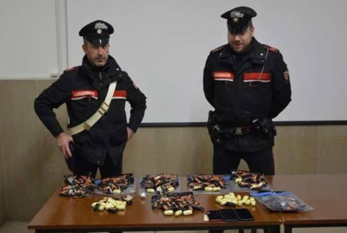 Porto Recanati, nascondevano eroina nelle confezioni dei Mini Mars: tre in manette