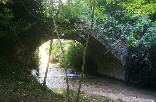 Il ponte di San Lorenzo a Fabriano