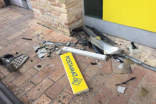 Postamat danneggiato dai ladri, il sindaco di Corinaldo scrive a Poste Italiane