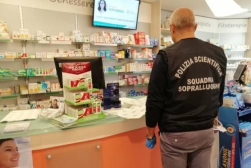 Pesaro, rapina in farmacia. Preso l'autore riconosciuto dalle telecamere