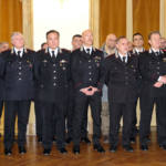 I comandanti di compagnia dei Carabinieri della provincia di Macerata