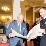 Il procuratore capo Giovanni Giorgio e il comandante provinciale dei Carabinieri Michele Roberti