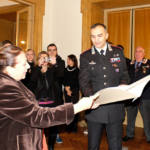 Il prefetto Iolanda Rolli e il comandante provinciale dei Carabinieri Michele Roberti