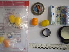 La cocaina pronta per lo spaccio posta sotto sequestro dalla Polizia di Ascoli Piceno