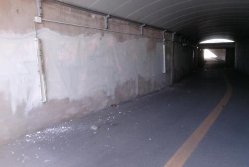 Senigallia, i vandali colpiscono il murales nel sottopasso di via Mamiani