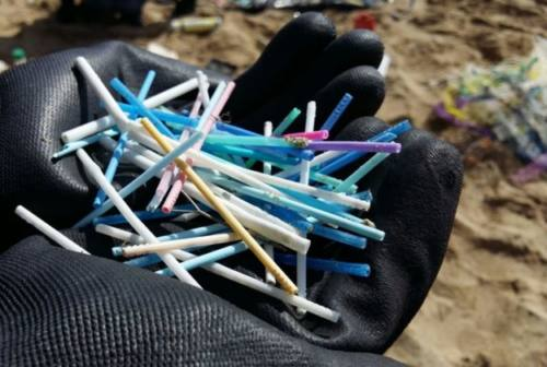 Troppa plastica rimane in spiaggia dopo gli eventi: «si trovi un'altra sede»