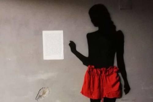 Fano, quando la street art lancia messaggi antiviolenza