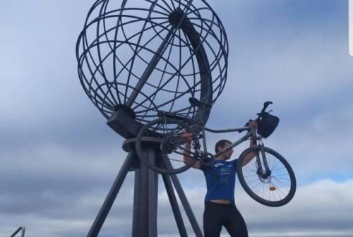 Da Ancona a Capo Nord in bici: la sfida di Kyrylo Morresi