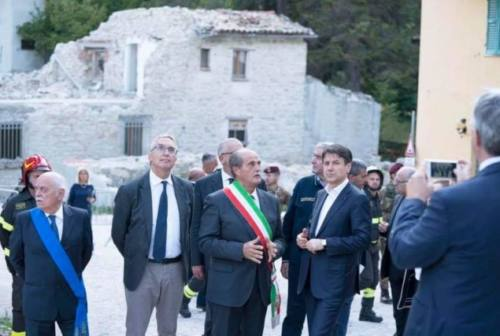 Decreto sisma, Ceriscioli scrive a Conte:  «La svolta non c'è ancora stata»