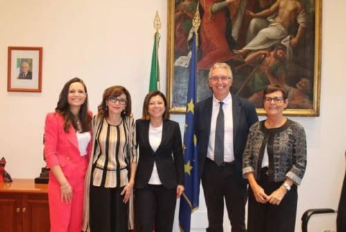 Vertice con la ministra De Micheli, Ceriscioli: «Confronto proficuo»