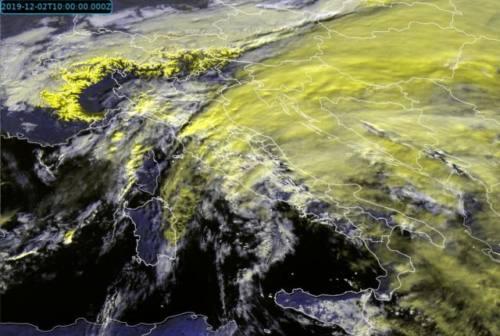 Allerta meteo, temporali forti dal pomeriggio. Da domani temperature giù di 5 gradi