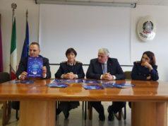 Presentate le iniziative sulla sicurezza contro furti e truffe. Da sinistra Pierpaoli, Nicolini, Cracovia e Grucci