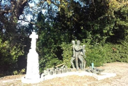 Jesi, il restauro del Monumento ai Martiri del XX Giugno