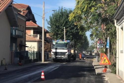 """Il contributo del Caf """"completa"""" i lavori in via Fiumesino, a Falconara"""