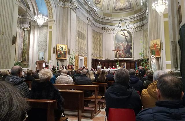 Le celebrazioni per santa Barbara, patrona dei Vigili del fuoco, svoltesi a Macerata