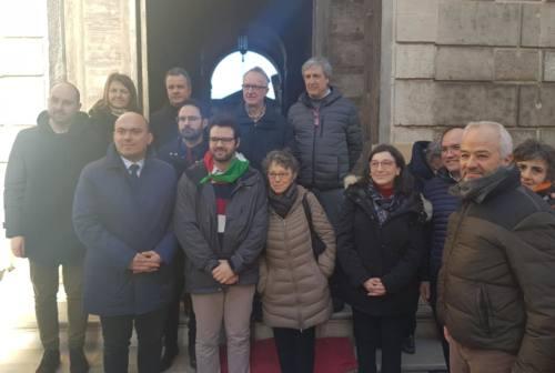 Osimo, posta la pietra d'inciampo in memoria di Annita Bolaffi