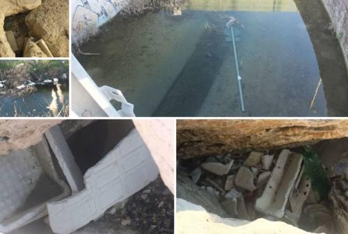 Detriti nel torrente Castellaro, Cognigni: «Tratto demaniale: uffici in contatto  per rimuoverli»