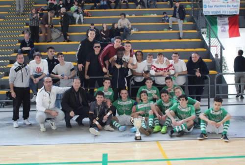 Il Cus Ancona U17 trionfa alle Futsal Finals Cup 2019