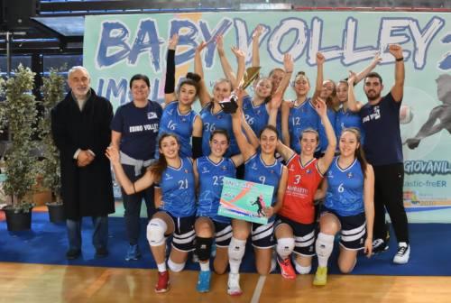 L'Esino Volley (U18) vince il torneo di Imola