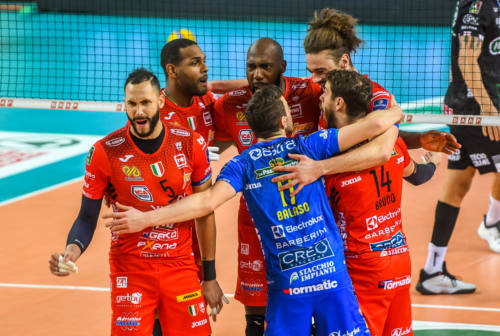 Volley, Champions League. Lube implacabile, tre schiaffi a Trento