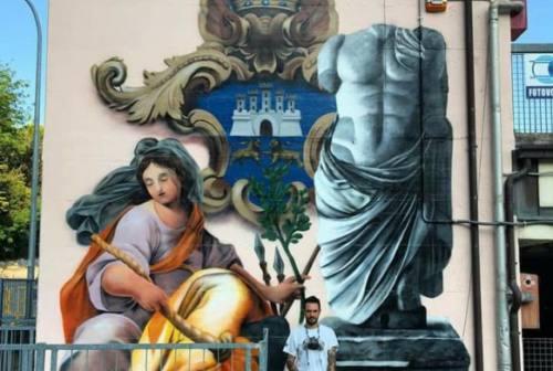 Federico Zenobi, miglior writer al mondo. Suoi i murales al MaxiParcheggio di Osimo