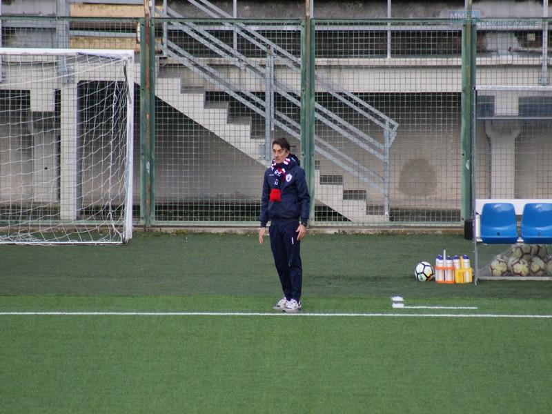 Aldo Clementi, tecnico dell'FC Vigor Senigallia