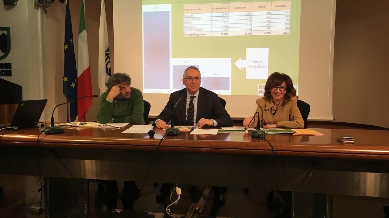 Stefano Raia, Luca Cerisicoli e Loretta Bravi