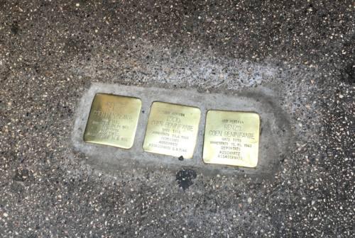 Giornata della Memoria: ad Ancona svelate sette nuove Pietre d'inciampo