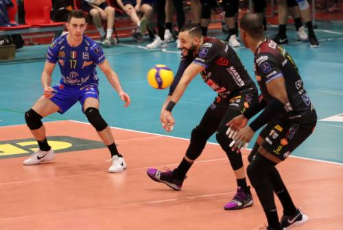 Volley, Superlega: Abdel-Aziz show, la Lube cede al tie-break