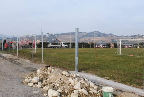 Osimo, cantieri work in progress nei campi sportivi