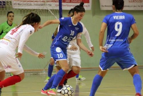 Futsal, il Città di Falconara supera in trasferta il Cagliari. Mister Neri:«Non posso rimproverare nulla»
