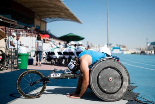 Lo show dell'atletica paralimpica italiana sbarca nel capoluogo marchigiano