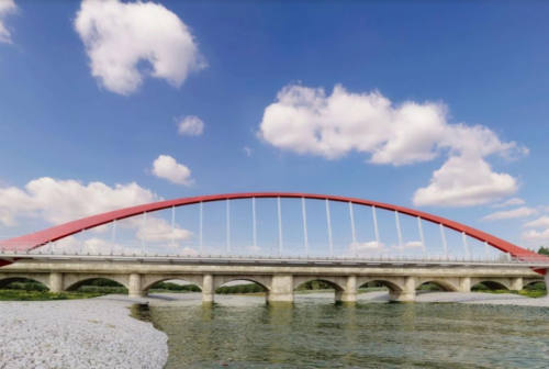 Mobilità green: ecco il progetto del ponte ciclopedonale sul Cesano