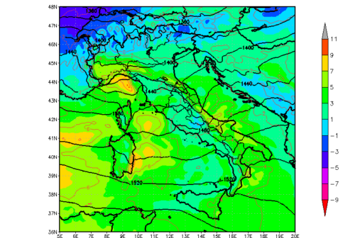 Maltempo: tempeste violente di vento su Sibillini, Catria e Carpegna