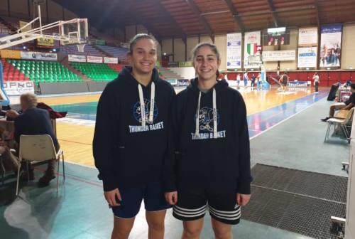 """Giulia Michelini e Giorgia Ricciutelli """"caricano"""" la Thunder Halley"""