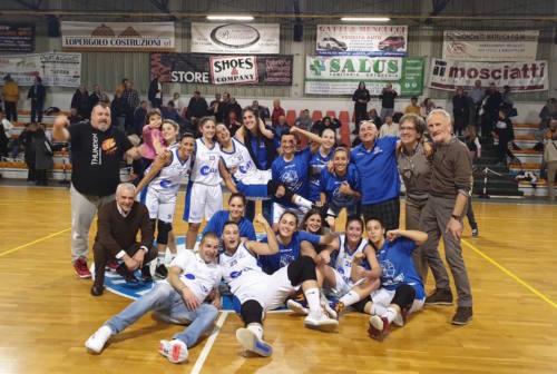 Basket, la Thunder Halley Matelica Fabriano infila la quarta vittoria di fila e insegue il sogno playoff