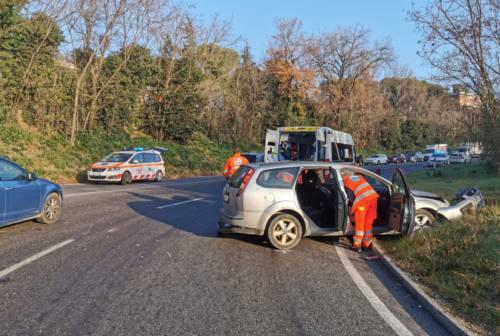 Tre incidenti a Macerata: quattro persone in ospedale. Traffico in tilt