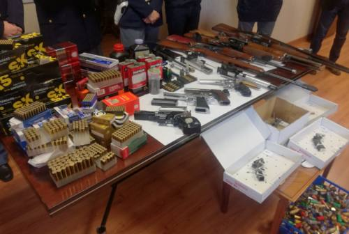 """Quattro congegni """"fai da te"""" e 16mila munizioni detenute in modo illecito: scatta il sequestro"""